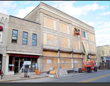 Boerner Building Historical Restoration, Port Washington, WI